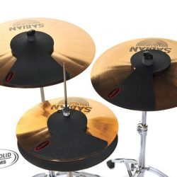 3 x RockSolid Cymbal Silencer Practice Pads