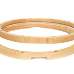 "14"" Maple Wood Snare Drum Hoops - Pair - 10 Lug Hoop"