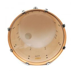 "16"" RockSolid 2 Ply Clear Bass Drum Skin"
