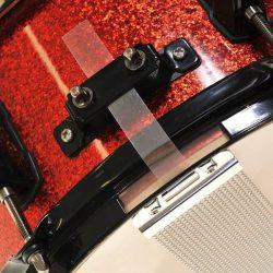 RockSolid Mylar Snare Straps - 4 Pack